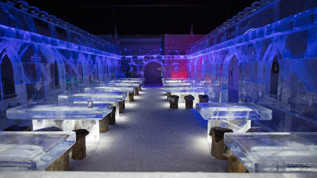 Kemi Snowcastle offers winter experience all year round, even in summer time.