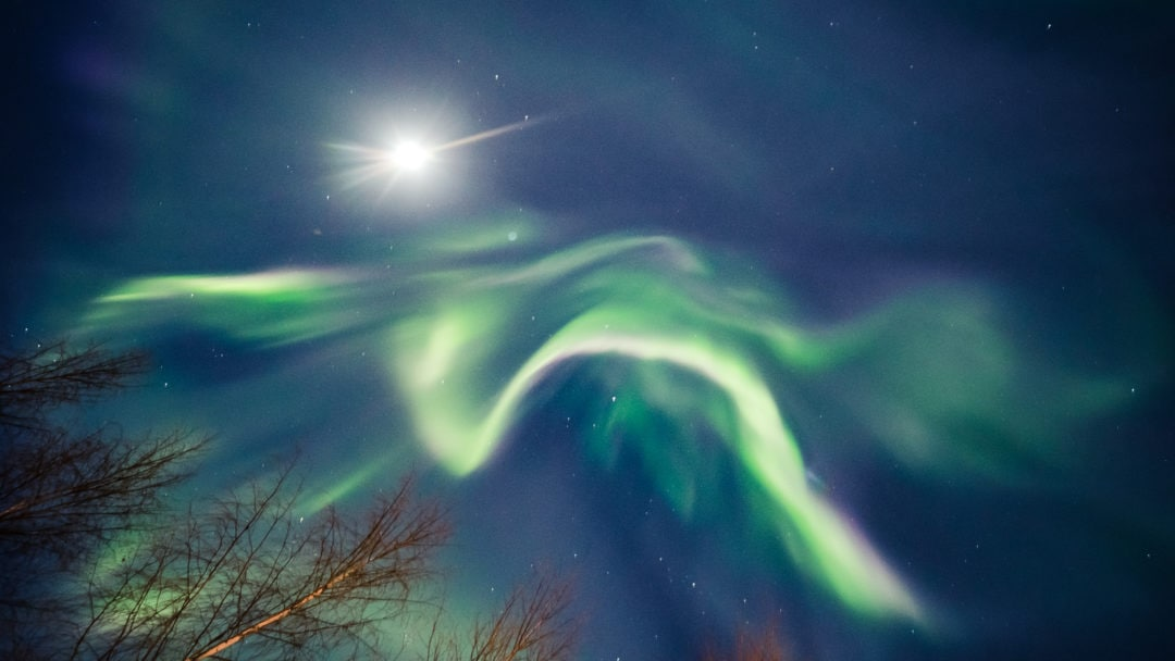 The biggest auroras in Lapland of the season 2020 happened on February 6th.
