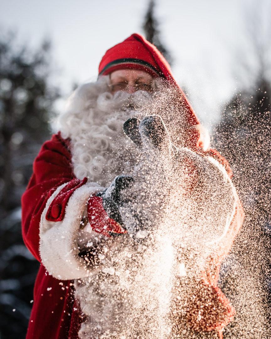 Joulupukki Rovaniemi. Aidot tarinat, brändi- ja strategiapalvelut.