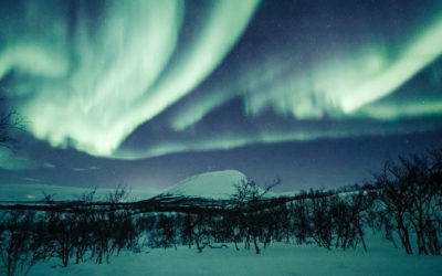 Best northern lights of the season 2019-2020 in Lapland
