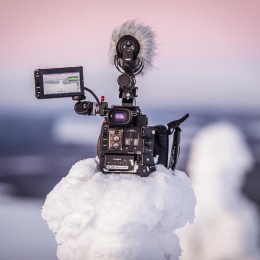 Videofirma Rovaniemi & Lappi: tuotanto ja kuvaus tuntureissa. All About Lapland.