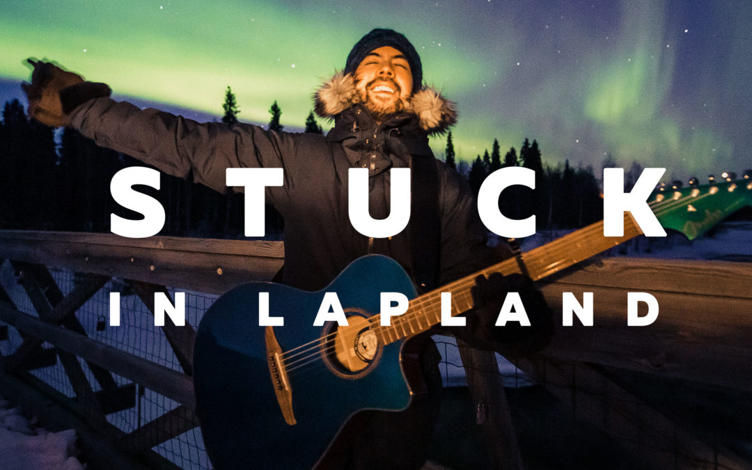 Stuck in Lapland – Victor Alarcon aka Vic Ja4 – All About Lapland Podcast Episode 8.